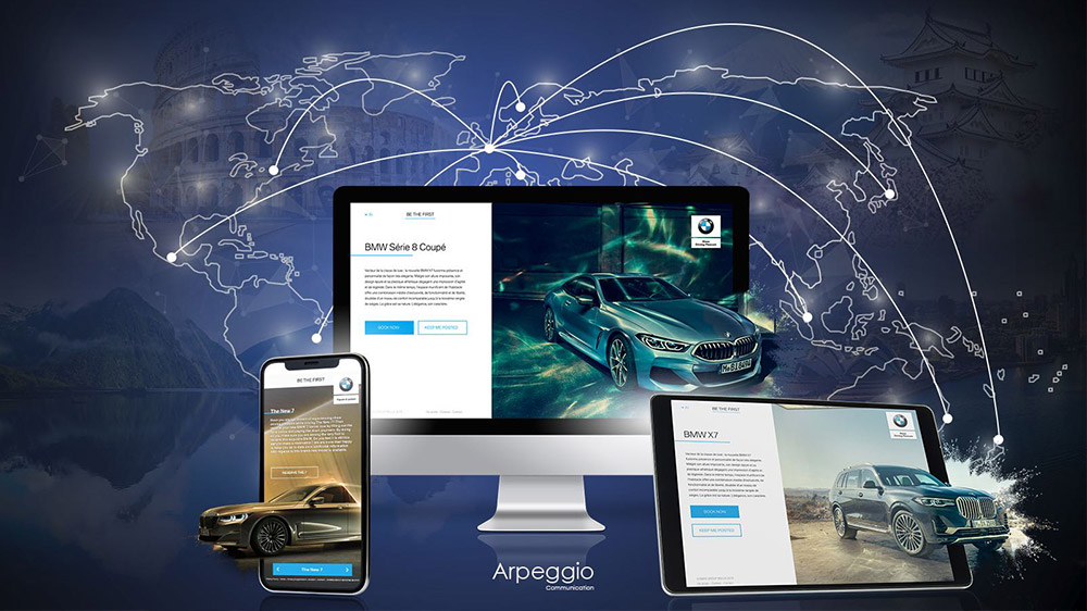 Arpeggio s'internationalise et séduit le BMW Group AG